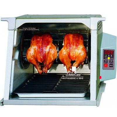 Ronco Digital Rotisserie BBQ Oven - Showtime Platinum Countertop Electric Cooker