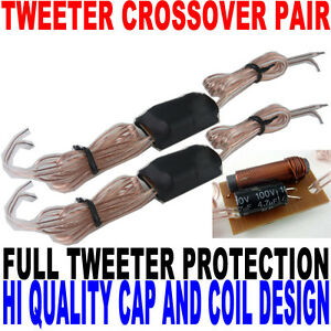 High Quality Passive Tweeter Crossover Pair Cap and Coil Design For Best Sound
