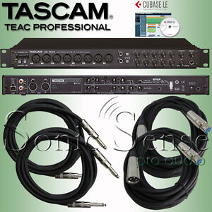 Tascam-US1800-USB-2-0-Audio-MIDI-Interface-16-4-US-1800-Cables-Extended-Warranty