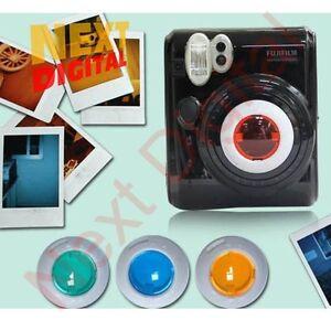 Fuji-Fujifilm-Instax-Mini-50S-Film-Camera-Colour-Filter-Close-up-Lens-Polaroid