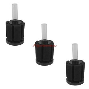3x Small Fish Tank Bio Filter Aquarium Bio Sponge Filter