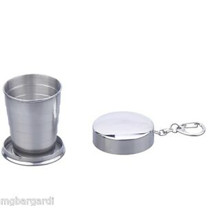Shot-Glass-Collapsible-Stainless-Steel-Shot-Glass-Travel-Cup-Key-Ring