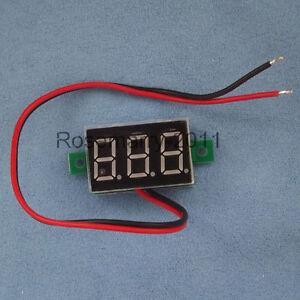 Mini-3-Digital-0-36-LED-DC-3-30V-Blue-Volt-Voltage-Meter-Voltmeter-Self-Power