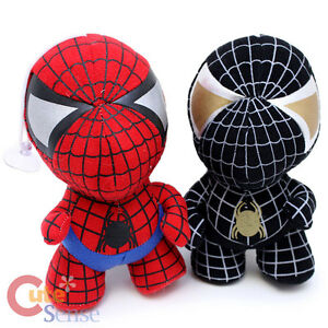 Marvel-Baby-Spiderman-Black-Spiderman-Plush-Doll-Set-Hang-able-Small-Stuffed-Toy