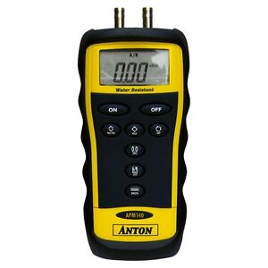 Anton APM140 Differential Digital Manometer with Stand - BNIB ( APM 140 )