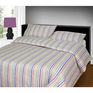 Luxury Thermal 100% Brushed Cotton Flannelette Quilt/Duvet Cover Set