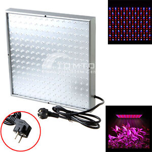 Quad-band 225 LED Grow Light Planel Plant Lamp Blue Red 14W