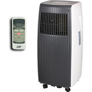Slim amp compact portable air conditioner small room ac for Small room portable air conditioners