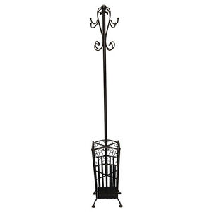 New Wrought Iron French Antique Coat Hat Umbrella Stand W25CM x L25CM x H1.78M