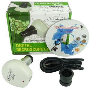 Digital USB Microscope Telescope Color Camera Image Capture & Live Video