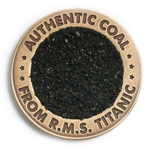TITANIC-100TH-ANNIV-LIMITED-EDITION-COAL-COIN-W-COA-AUTHENTIC-MEMORABILIA