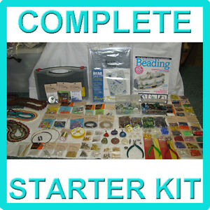 complete jewellery kit starter pack with tools
