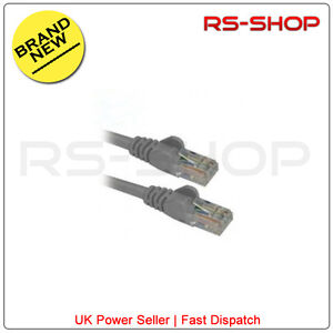 5M-CAT5E-RJ45-Snagless-Ethernet-Network-LAN-Patch-Cable-Lead-5-Meter-Grey