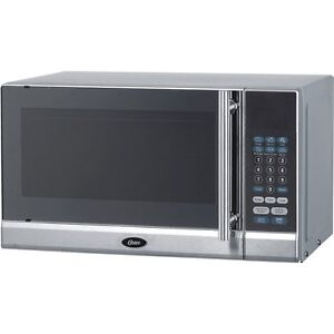 Countertop Oven Wattage : Black-700-Watt-Countertop-Microwave-Oven-Oster-Digital-Cooker-w ...