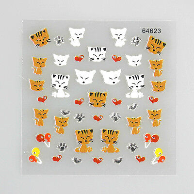 3D DIY Nail Art Stickers - 26 Cute!! Design - 3 + 1 on Rummage
