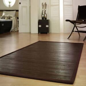 bambusteppich teppich bambusmatte wenge k chenteppich ca 120 cm x 180 cm. Black Bedroom Furniture Sets. Home Design Ideas