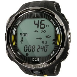 Oceanic-OCS-Scuba-Dive-Computer-Watch-Yellow-NEW