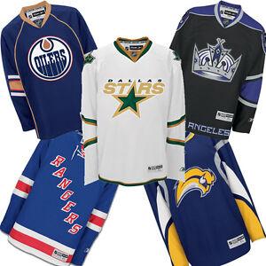 NHL-Premier-Hockey-Jerseys-by-Reebok-Maple-Leafs-Rangers-Oilers-Stars-more