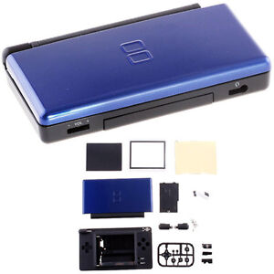 Full Shell Housing Case For Nintendo DS Lite NDSL Blue