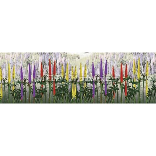 """Lupines Bushes 1"""" Height 8 Pack Flowering Plants O Scale JTT Scenery Products Toys"""