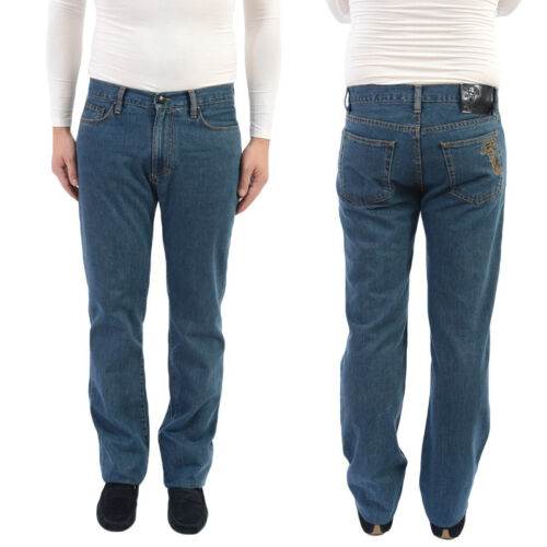 Versace Collection Regular Fit Blue Jeans
