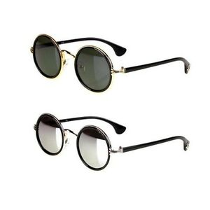 NEW-WOMEN-MEN-Popular-Retro-Round-Frame-unisex-UV400-Glasses-Sunglasses-eyewear