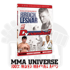 Dynamite-USA-DVD-2-DISC-SET-MMA-K-1-Brock-Lesnar