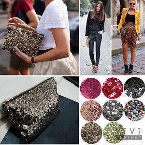 Dazzling-Glitter-Sparkling-Bling-Shiny-SEQUINS-Evening-Party-Bag-Handbag-Clutch