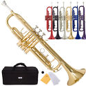 Mendini by Cecilio Brass Bb Trumpet
