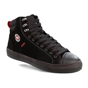 LEE-COOPER-Steel-Toe-Safety-Boots-Trainers-Black-PU-Nubuck-Leather-UK-6-12-022