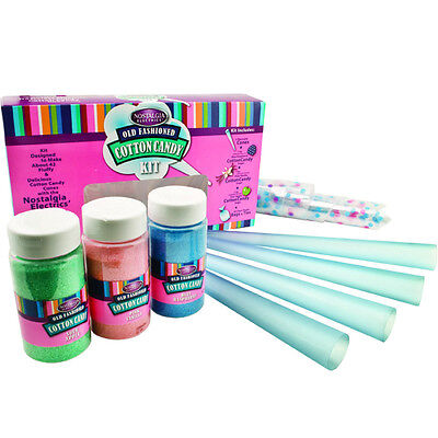 Cotton Candy Maker Flossing Sugar Kit W Floss Cones Bags All Machine Types