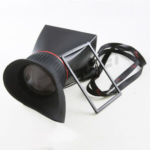 LCD-Screen-Viewfinder-VF-169-16-9-2-8x-for-Panasonic-GF2-GF3-GH1-GH2-NEX-5N