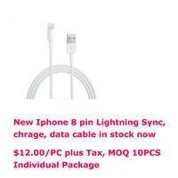 Apple iPhone 5 Lightning 8-Pin USB Sync and Charge Cable