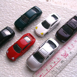 20-pcs-OO-Scale-1-75th-painted-Model-Cars-style-C