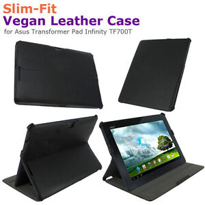 rooCASE-Slim-Fit-Vegan-Leather-Case-for-Asus-Transformer-Pad-Infinity-TF700T