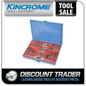 Kincrome Tap & Die Set 40 Piece Metric - K12021