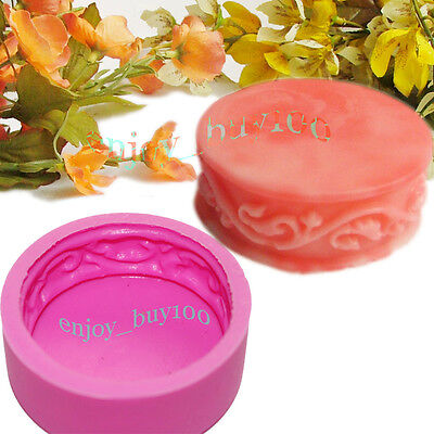Round Flower Soap Mold Silicone Candle Making for Homemade Crafts  Free SHIPPING on Rummage