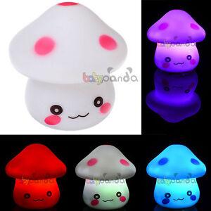New-Mini-Led-Colour-Changing-Mushroom-Night-Lamp-Light-Cozy-Decoration-Gift