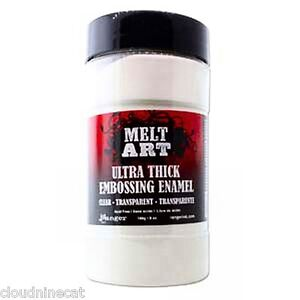 Ranger Melt Art UTEE Ultra Thick Embossing Enamel Powder Clear 8 oz SU102