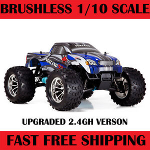 Nitro-Gas-RC-Truck-4WD-Buggy-1-10-Car-New-VOLCANO-S30-Redcat-RTR-2-4gh-Blue