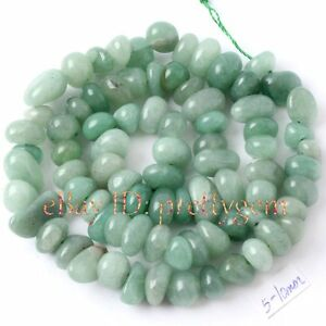 5-10MM-FREEFORM-SHAPE-AVENTURINE-GEMSTONE-BEADS-STRAND-15
