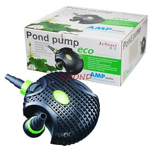 1200 gph submersible koi fish pond fountain waterfall in for Coy pond pump