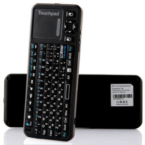 Russian Version iPazzport Mini Wireless 2.4G Mini Keyboard Mouse Touchpad