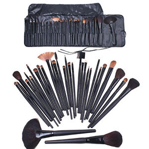 32 PCS Professional Makeup Cosmetic Brush set Kit Case