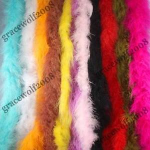 Marabou-Boa-2-3-Yard-6-feet-Feathers-fit-Dress-up-Decoration-2-W-Multi-colors-FB
