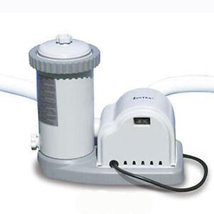 intex krystal clear 1500 gph easy set swimming pool pump. Black Bedroom Furniture Sets. Home Design Ideas