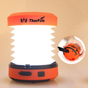 Camping Lights, ThorFire Collapsible LED Camping Lantern Hand Cr