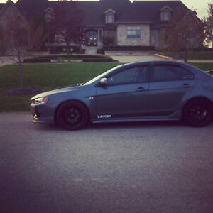 2009 Mitsubishi Lancer GTS! Safety, E-Test, Carproof Included