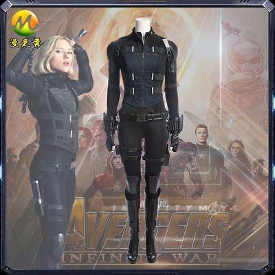Avengers 3 Infinity War Black Widow Natasha Romanoff Cosplay Costume for Women (Avengers Costumes For Women)