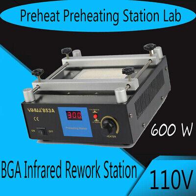 600w Yihua 853a Smd Pcb Preheater Bga Rework Station Preheating Oven Station